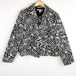 Requirements   XL   Jacket   Leaf Print